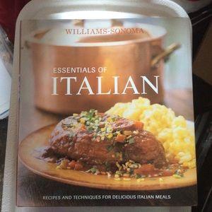 Other - Williams-Sonoma Essentials of Italian Cookbook